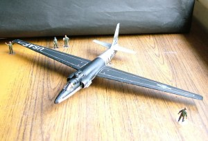 Photo of a 1/72nd scale Lockheed U-2