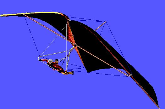A painted history of hang glider design | Everard Cunion's