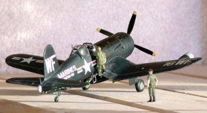 1/72 scale Corsair