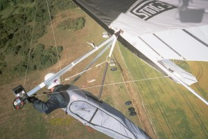 Aerial photo from a hang glider
