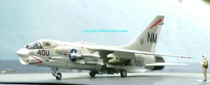 Photo of a 48th scale F-8