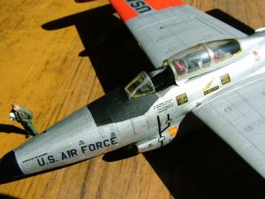 1/72 scale F-89 close-up