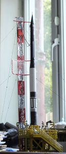Glencoe Models 1/76th scale Vanguard research rocket