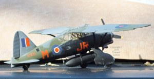 1/32nd scale Westland Lysander