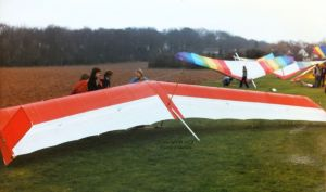 Manta Fledge 2 at BHGA AGM Warwick Uni about March 1979