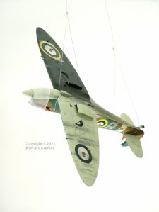 1/48th scale Spitfire Mk. 1