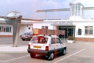 Sywell aerodrome, April 2003