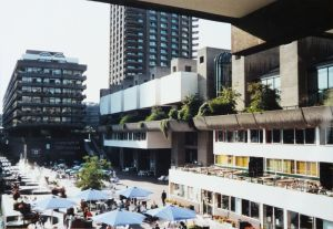 The Barbican, London, in 1988