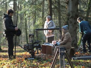 Film crew from Holland, December, 2014