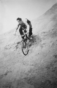 Photo of mountain biking in 1972