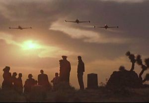 Still from the movie The Right Stuff, 1983