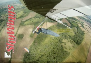 Hang gliding magazine cover