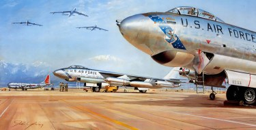 B-47 painting by John Young