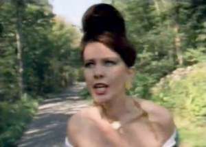 Still from the video for the B-52s' 1989 chart topping single, Love Shack
