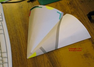 Photo of paper glider