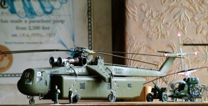 72nd scale Skycrane