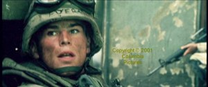 Still from 'Black Hawk Down', 2001