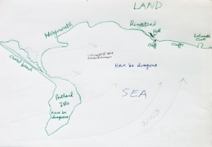 Ringstead Convergence hand-drawn map