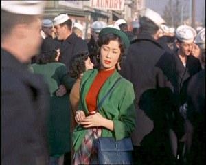 Kimiko, played by Keiko Awaji