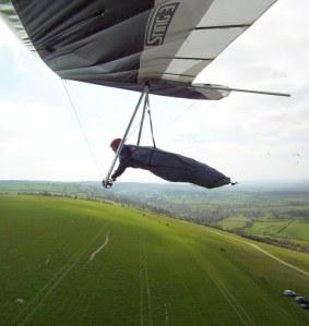 Hang glider photo
