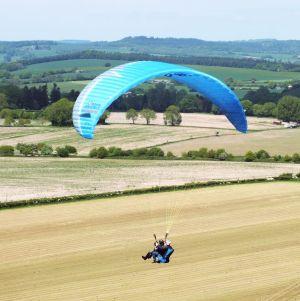 RAF dual paraglider