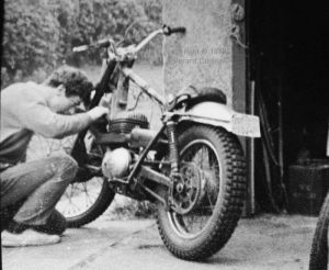 250cc Greaves trials bike about 1970