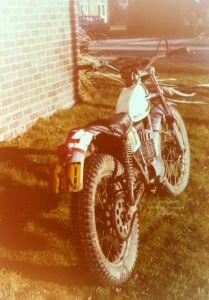 250cc Ossa 'Mick Andrews Replica' trials bike