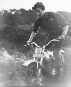Bultaco Sherpa in about 1974