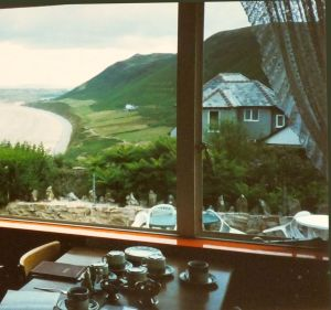 Breakfast At Rhossili Early Summer 1995