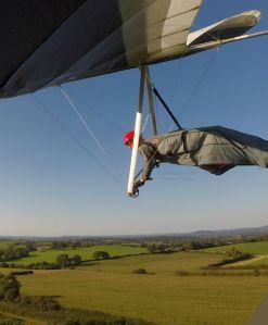 Hang glider approach