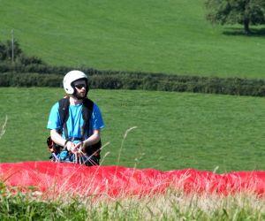 Polish paraglider pilot