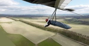 One pilot suggested setting it down in the line of trees along the top as preferable to the mud of the landing fields!