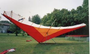 Chris Gonzales' older Sirocco 1 rigged in 2002