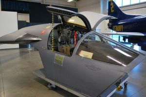 F-111 escape capsule. Wikipedia photo.