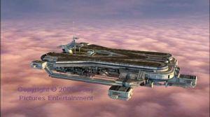 Skybase at dusk