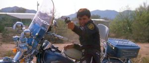 Still from the 1973 movie 'Electra Glide in Blue'