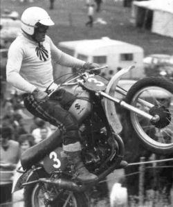 Joël Robert on the Suzuki in 1970