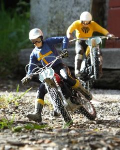 Revell 1/12th scale Husqvarna motocross bike with Tamiya rider