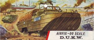 Airfix OO scale DUKW cover art