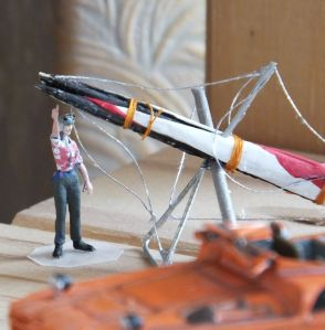 OO Scale Scratch Built Hang Glider