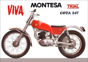 Montesa Cota advert of about 1970
