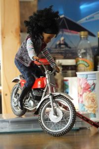 Protar 9th Scale Montesa Cota 247 With Rider Doll