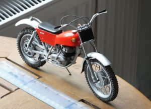 Protar 1/9 scale Montesa Cota 247 trials motorcycle