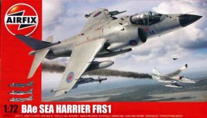 Box art of the Airfix 1/72nd scale Sea Harrier kit