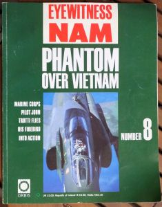 Phantom over Vietnam by Trotti Eye Wintness Nam cover
