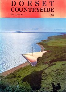 'Dorset Countryside' cover photo of a hang glider launching at Ringstead