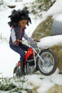 Protar 1/9 scale Montesa and Breyer Nadia doll