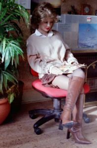 Rebecca Realdoll wearing boots in 2003