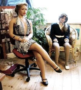 Caroline and Rebecca Realdolls