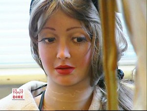 Rebecca Realdoll in a French documentary in 2006
